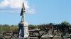 sharpsburg, maryland, battle of antietam, the civil war, war memorial, 132nd pennsylvania regiment, bloody lane, antietam national battlefield