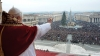 pope benedict xvi, urbi et orbi, to the city and to the world, st. peter's square, the vatican, christmas message, the pope, christmas