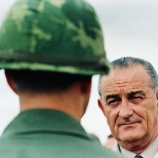 1966, lyndon b. johnson, president johnson, cam rahn bay, south vietnam, the vietnam war, vietnam soldiers