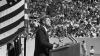president kennedy, the space race, houston university, texas, we choose to go to the moon in this decade and do the other things, not because they are easy, but because they are hard