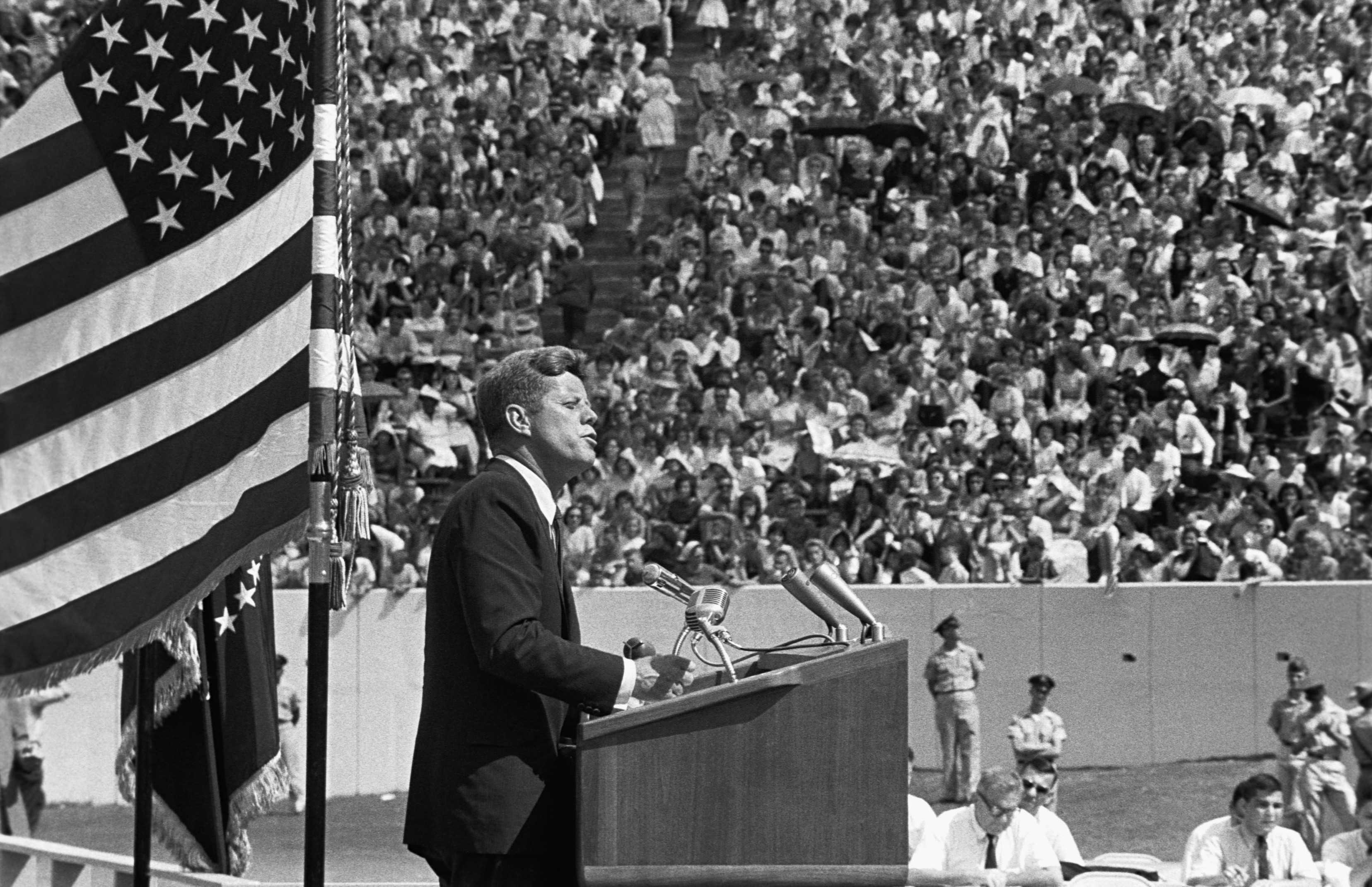 Kennedy historic speech in Houston | history.com