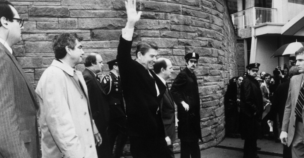 john hinckley, reagan assassination attempt, president ronald reagan
