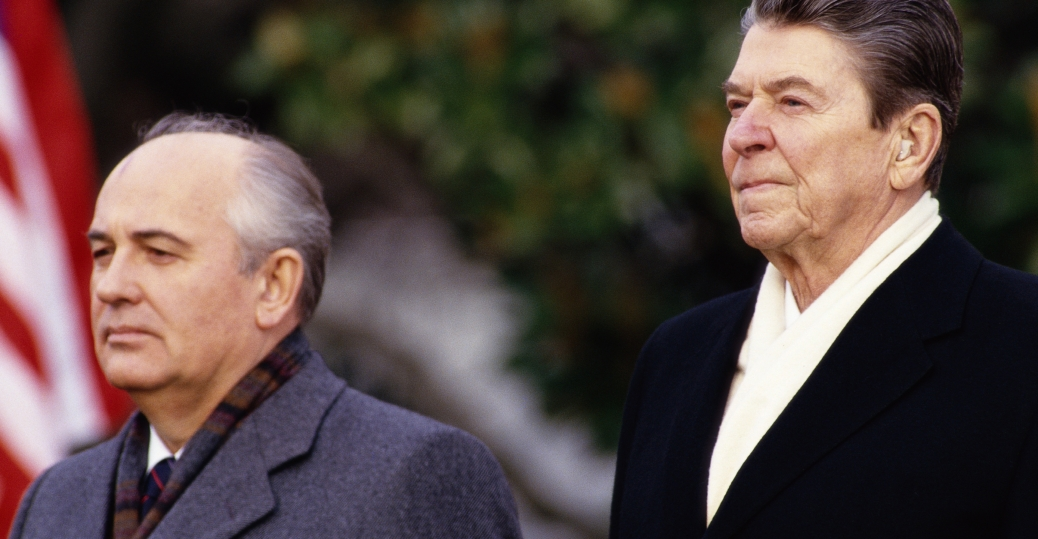 mikhail gorbachvec, the soviet union, evil empire, president reagan, ronald reagan