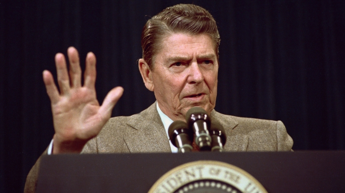anti communist guerrillas, nicaragua, lebanon hostages, president ronald reagan, iran contra affair