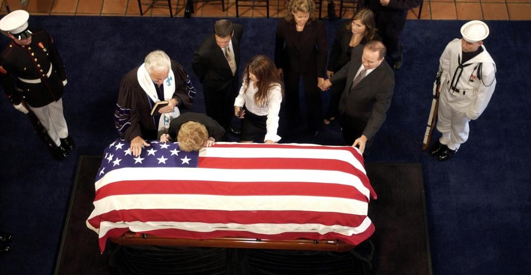 nancy reagan, president ronald reagan, president reagan's funeral, alzheimer's disease, 2004