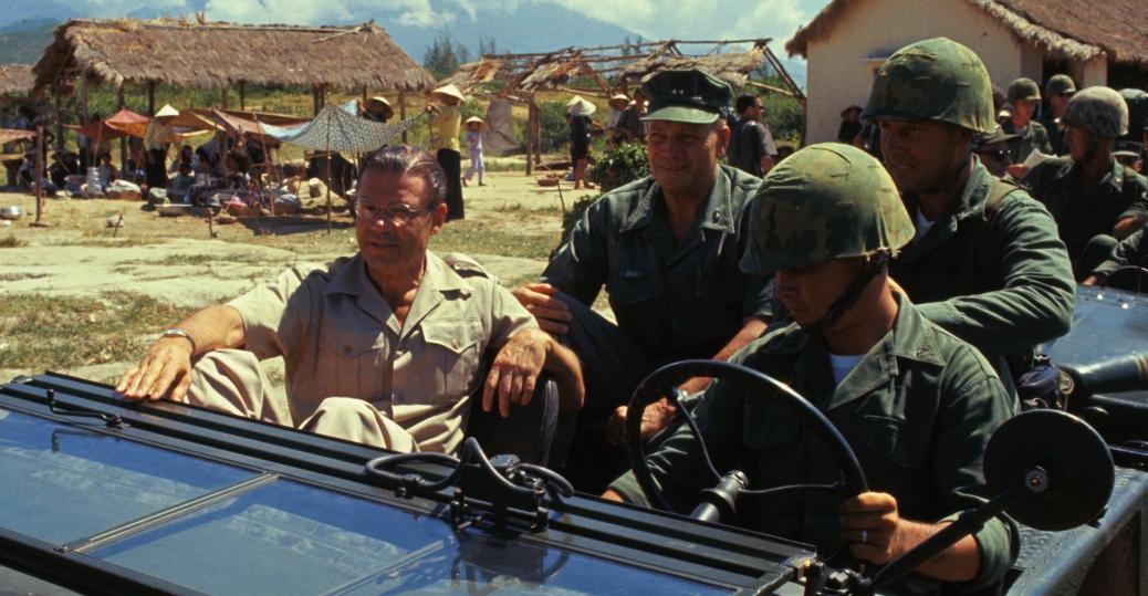 robert mcnamara, defense secretary robert mcnamara, vietnam soldiers, le my city hall, vietnam, the vietnam war
