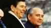 mikhail gorbachev, ronald reagan, the soviet union, communist leaders, the cold war