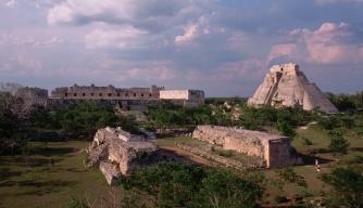 Uxmal Mayan Ruins in Yucatan