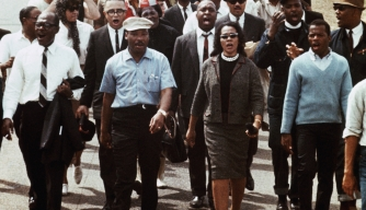 MLK leads Selma to Montgomery March