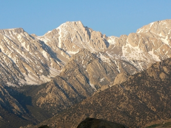 an analysis of chronology in sierra nevada mountains An estimated three-quarters of the water used by farms, ranches and dairies in california originates as snow in the sierra nevada mountain range, but the future viability of that resource is.