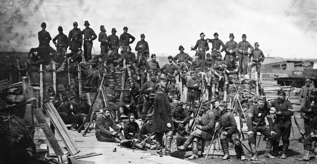 41st infantry regiment camp, bull run, battle of bull run, 1862, union soldiers, company c, the civil war