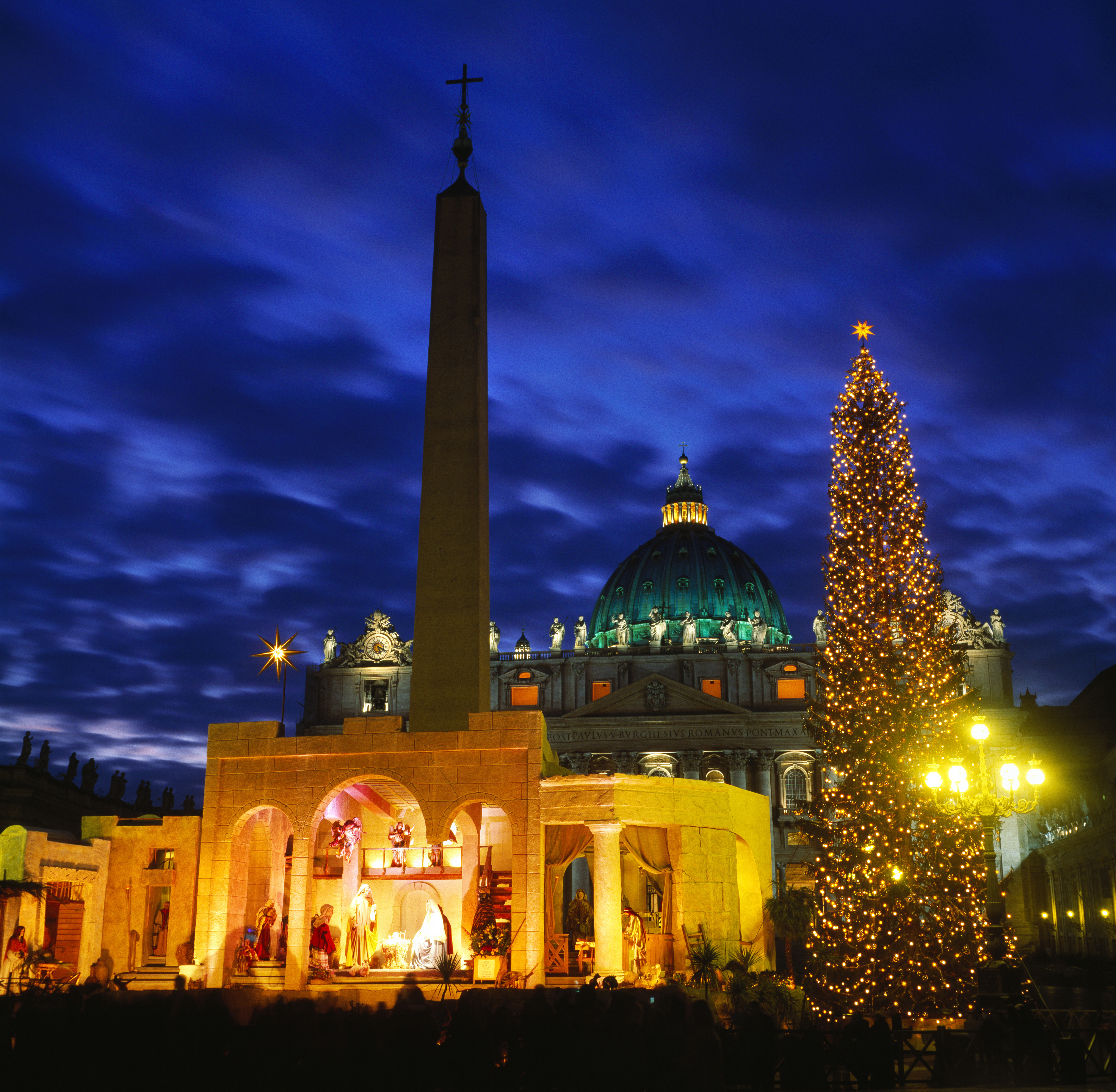 St Peters Square Christmas