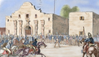 Susannah Dickinson, woman at The Alamo