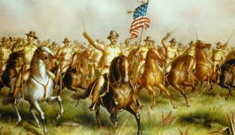 president roosevelt, teddy roosevelt, the rough riders, san juan hill, santiago de cuba, 1898