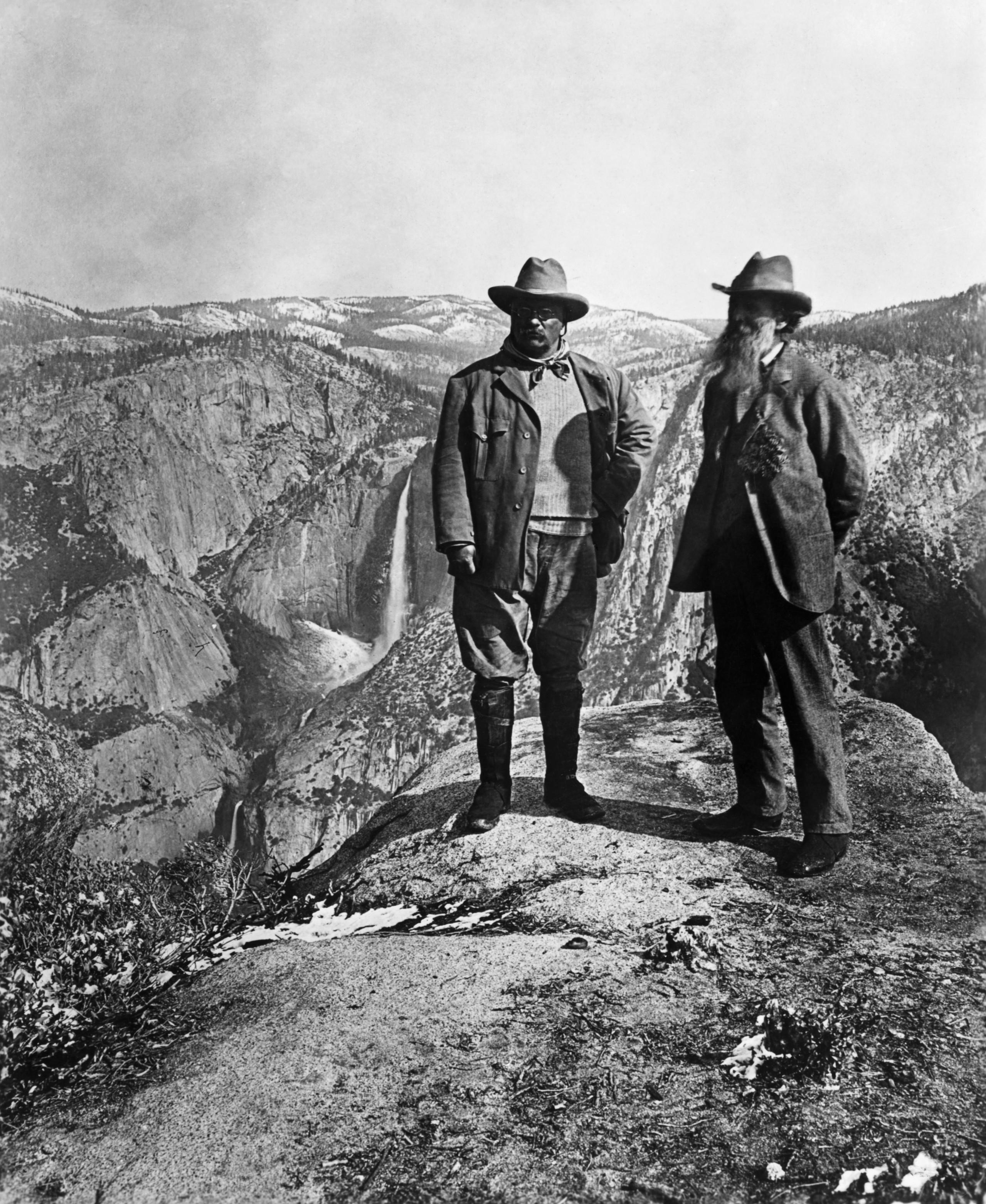 theodore-roosevelt-and-john-muir - Theodore Roosevelt ... Theodore Roosevelt National Park