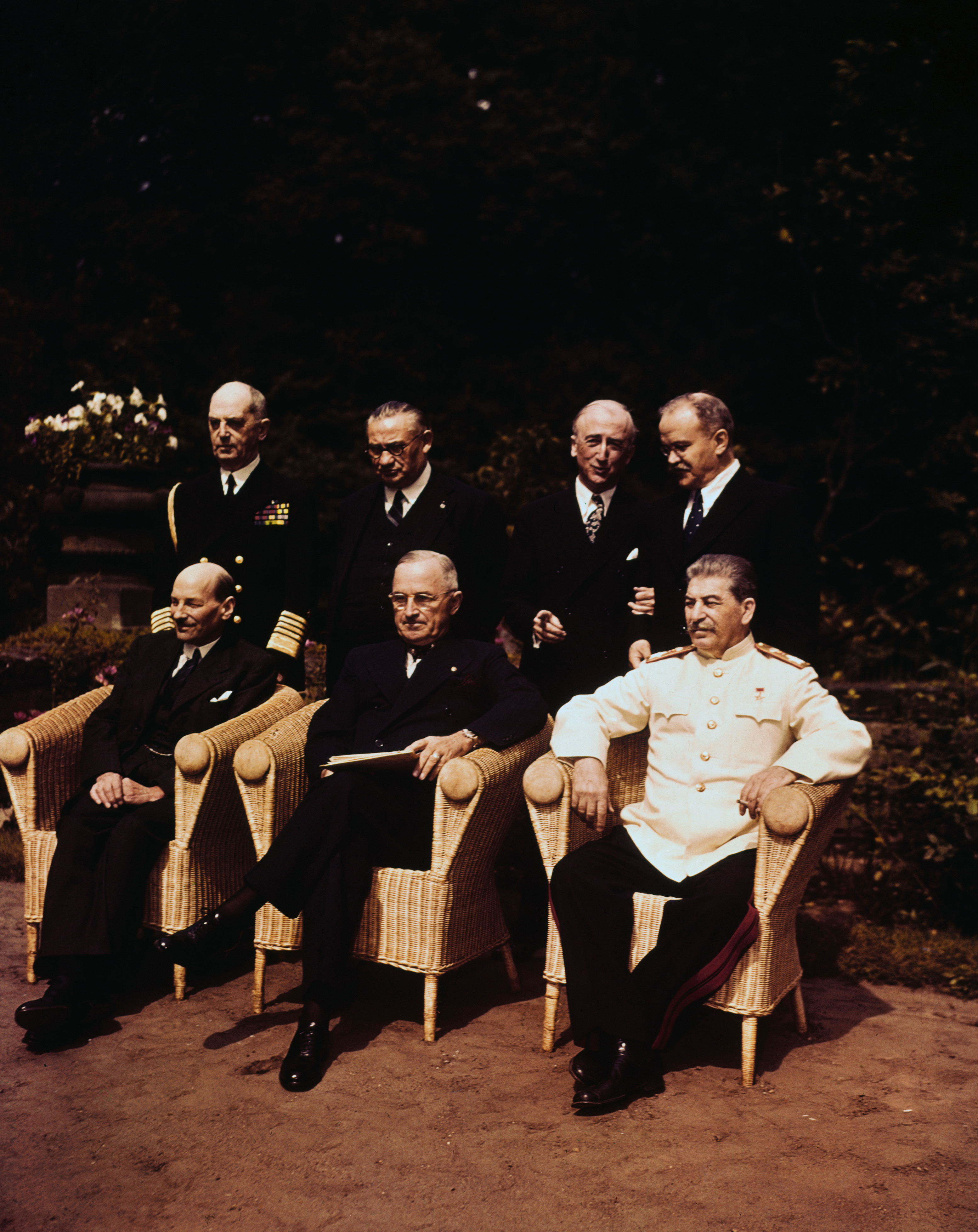 potsdam-conference - Harry S. Truman Pictures - Harry Truman ...