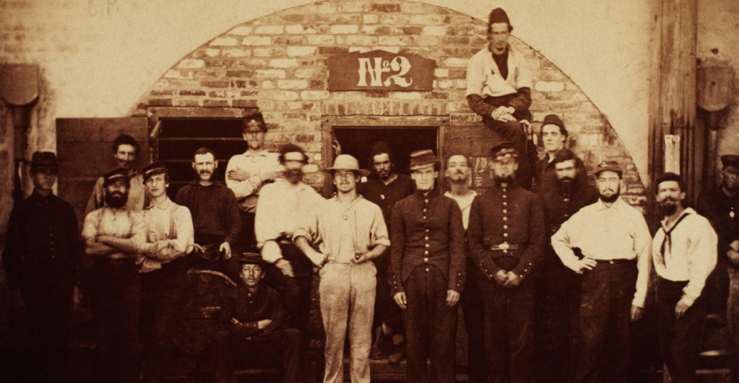union soldiers, castle pickney, south carolina, first battle of bull run, battle of bull run, the civil war, 1861, prisoners of war