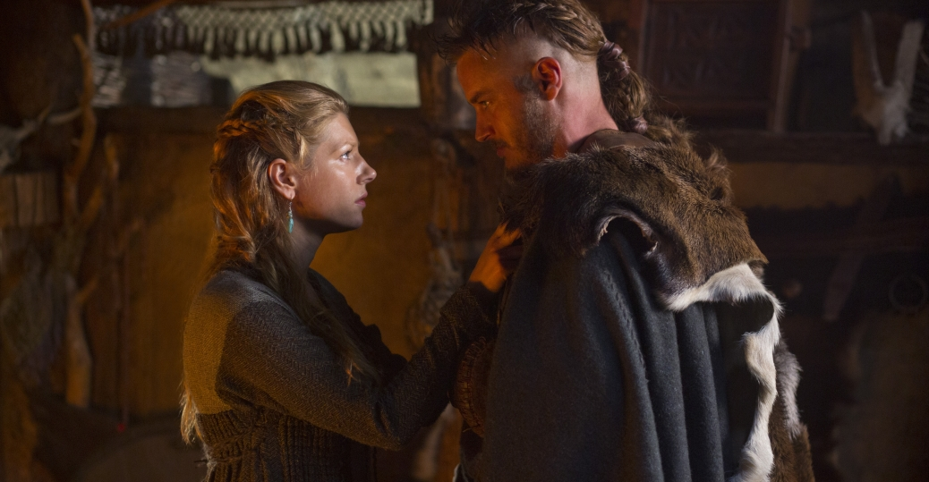 Lagertha and Ragnar