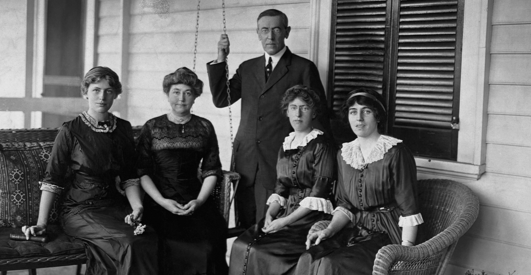 woodrow wilson, president wilson, ellen louise wilson, jessie wilson, margaret wilson, eleanor wilson, wilson family