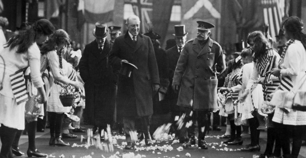 the treaty of versailles, president woodrow wilson, the nobel peace prize, the league nations, post war, 1920, versailles, france