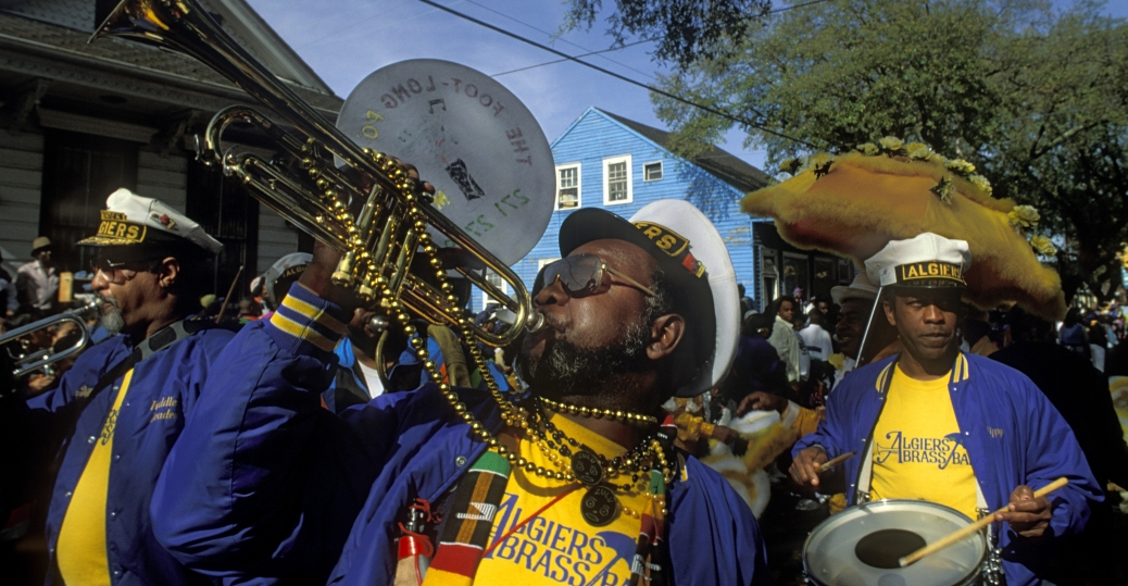 the zulu crewe, brass marching band, mardi gras, mardi gras parade, new orleans, louisiana