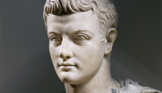Marble bust of Caligula