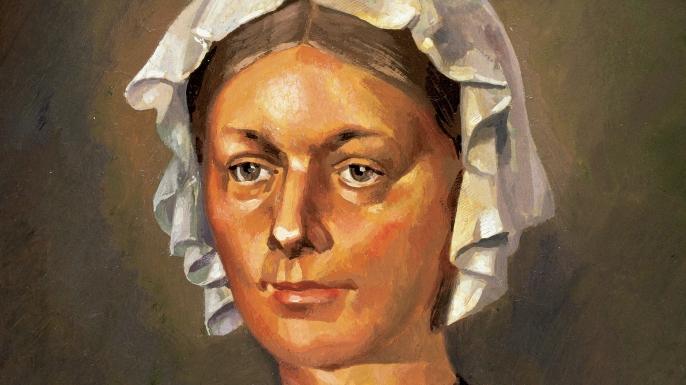 Florence Nightingale portrait.