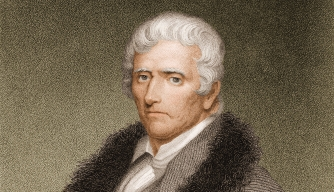 Engraving of Daniel Boone