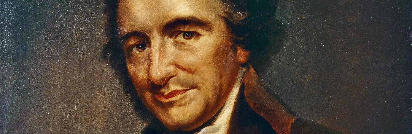 thomas paine american revolution com portrait of thomas paine