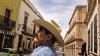 zacatecas street, cowboy hat, mexico, zacatecas
