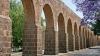 limestone aqueduct, morelia, historical capital, michoacan, mexico, 1700s, world heritage site, unesco, 1991, 1910