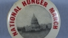 1932, national hunger march, washington d.c, unemployed, poverty, the great depression, soup kitchens, breadlines