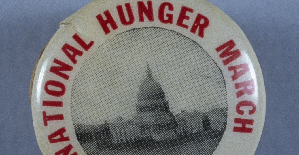1932, National Hunger March, Washington D.c, Unemployed, Poverty, The Great  Depression