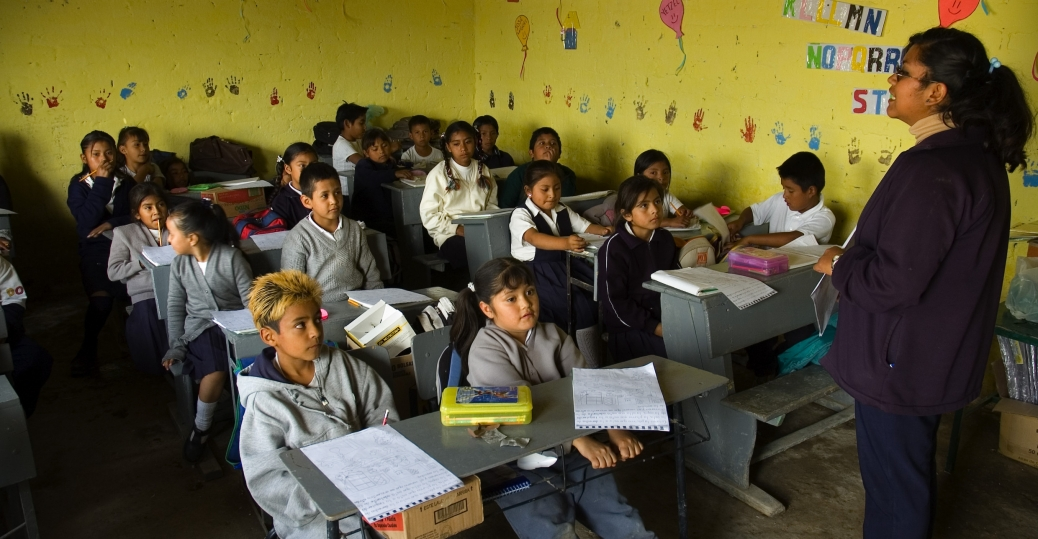 nicolas guillen elementary school, nueva tepalcate, students, teachers, chimalhuacan, mexican state, mexico