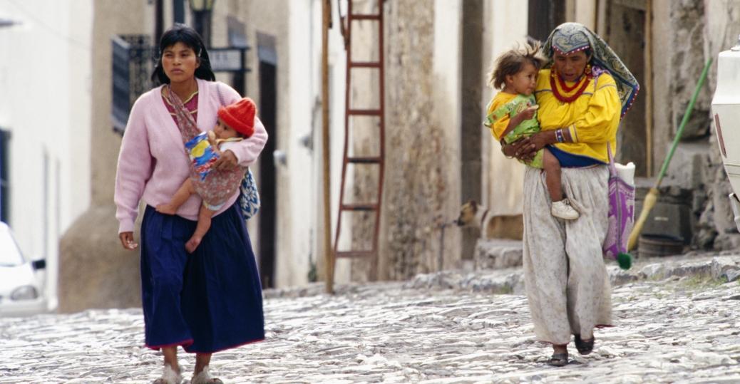 indios, real de catorce, san luis potosi, mexico