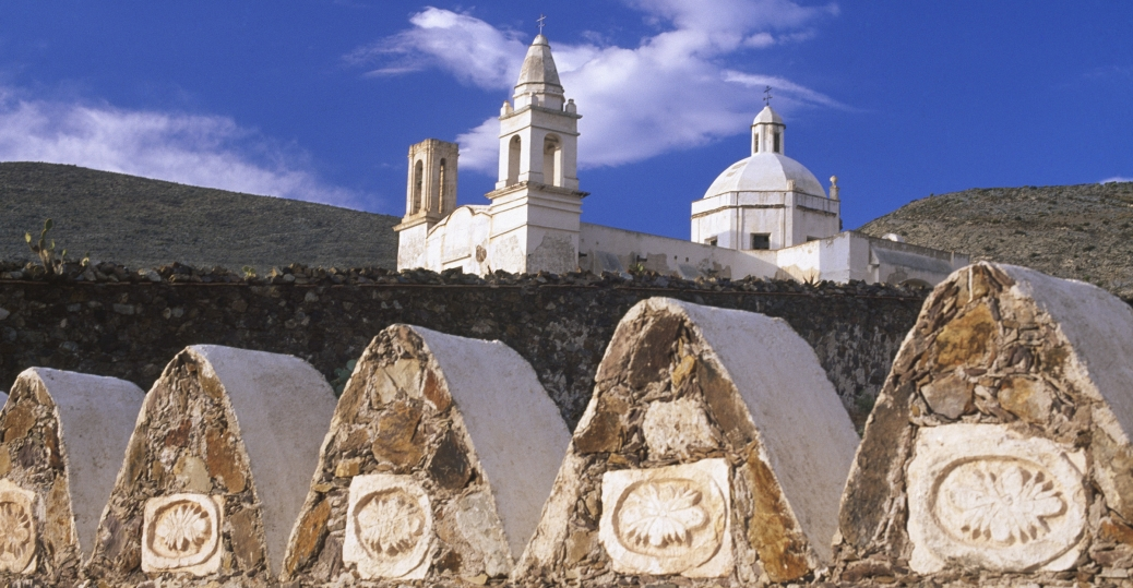 church, cemetery, san luis potosi, mexico