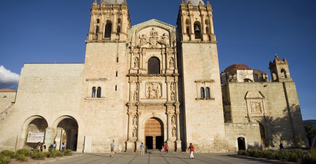 church of santo domingo, oaxaca, mexico