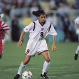 mia hamm, women's soccer, women's soccer player, world championships, olympic medals, 2004, leading scorer in soccer, 158 goals, international competition, women in sports, women's history