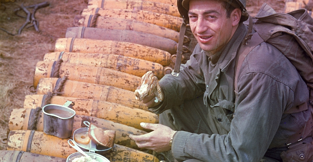 american soldier, world war II, rations, 1944, england