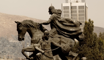Saladin Memorial in Damascus