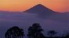 mountains, clouds, sunrise, queretaro, mexico