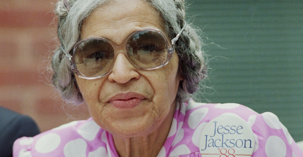rosa parks, montgomery bus boycott, 1955, 1956, first woman to lay in state at the u.s. capitol, women leaders, women's history