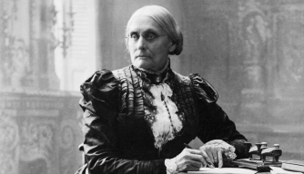 women's rights activist, susan b. anthony, 1820, suffrage, women's property rights, abolition of slavery, 1898, women's history, suffrage and the women behind it