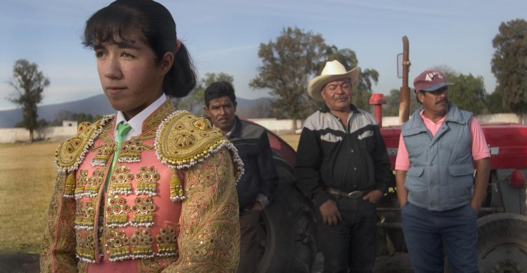 hilda tenorio, matador, matador apprentice, bullfight, progreso plaza de toros, progreso, hidalgo, mexico