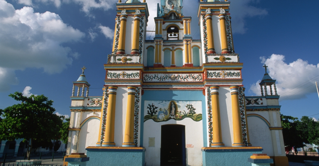 our lady of guadalupe, our lady of guadalupe church, cupilco, mexico, tabasco