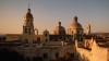 courtyard, the temple, ex-convent, santa cruz, queretaro, mexico