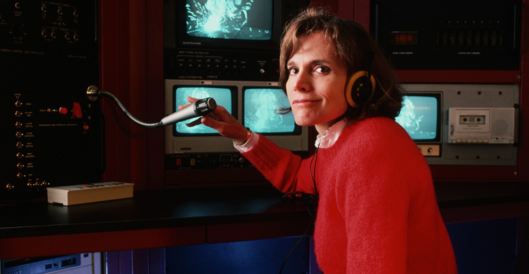 sylvia earle, american oceanographer, underwater explorer, women in science, women's history