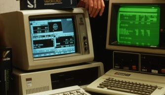 1980s, personal computers, ibm, apple, pcs, computer inventions