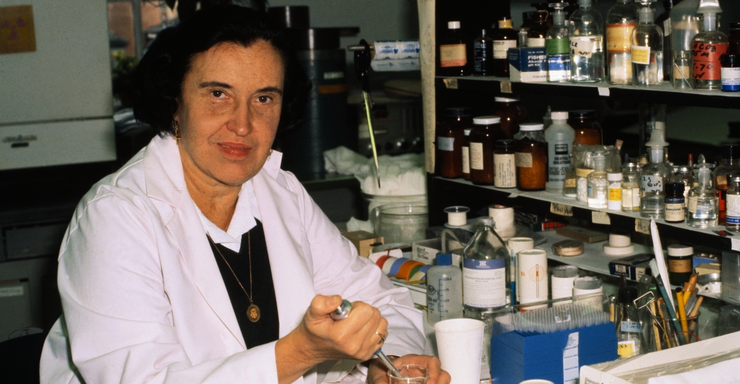 rosalyn yalow, nuclear physicist, hormones, 1977, nobel prize for medicine, women in science, women's history