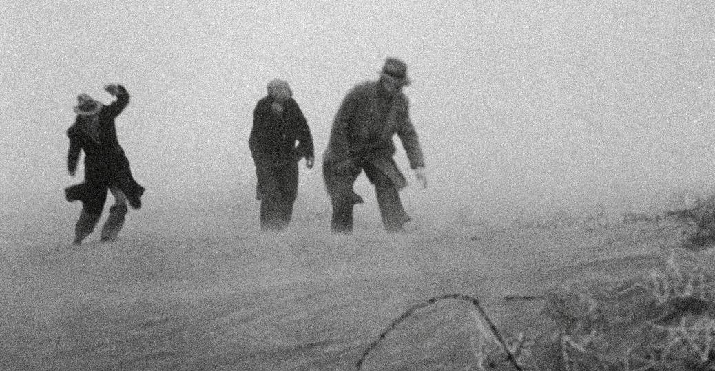 the dust bowl, dust bowl storm, black blizzards, the great depression